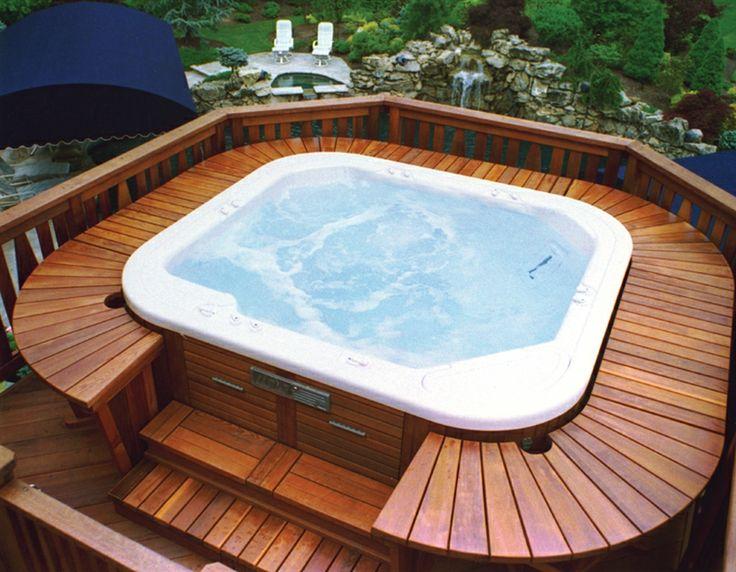 hot tubs built into decks laptrinhx