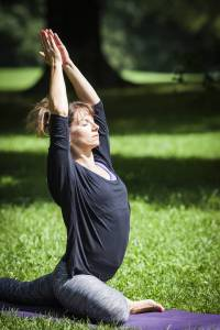 Yogalehrerin Svenja Lutz Om Stories
