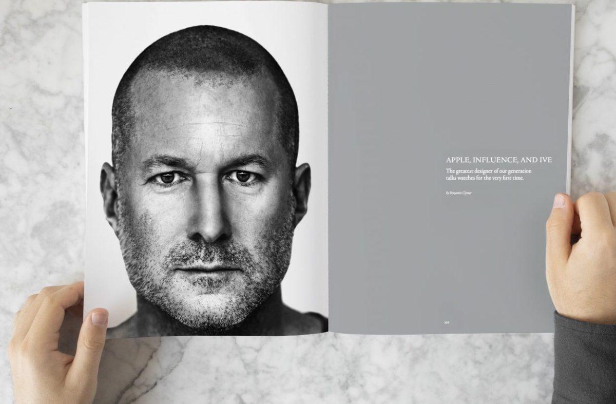 Jony Ive talks about the Apple Watch, finally