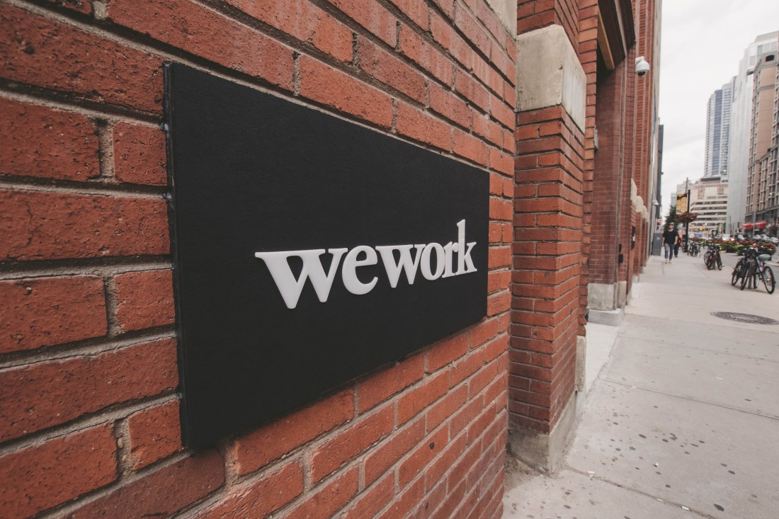 Summer's over so let's WeWork