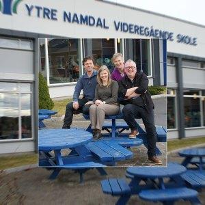 Foto. Gruppebilde av teamet i Norsk eLæring.