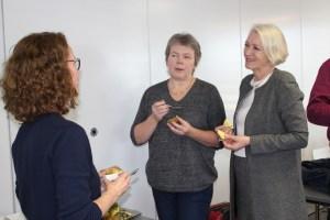 Fylkeskontakt i Akershus, Ingunn Kjøl Wiig, i samtale med Trine Paulsen og Liv Heidrun Heskestad frå NDLA.