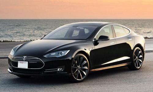 Tesla Motors Black