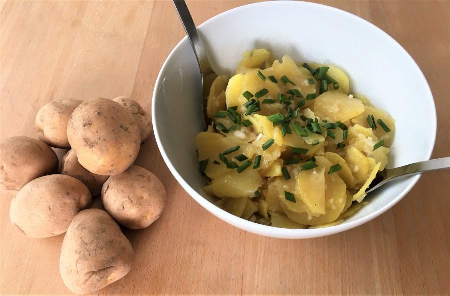 Schwäbischer Kartoffelsalat nach Oma Lisbeth