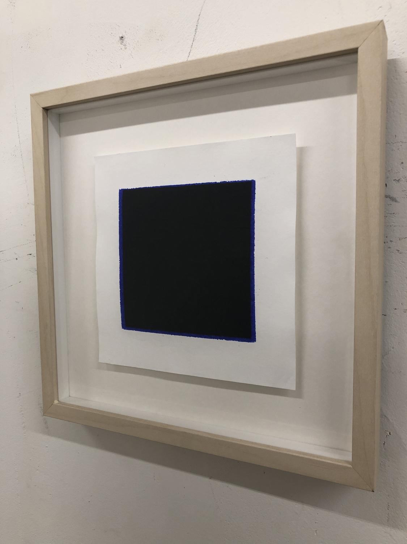 Item 228 - Alcasid, Black on Blue