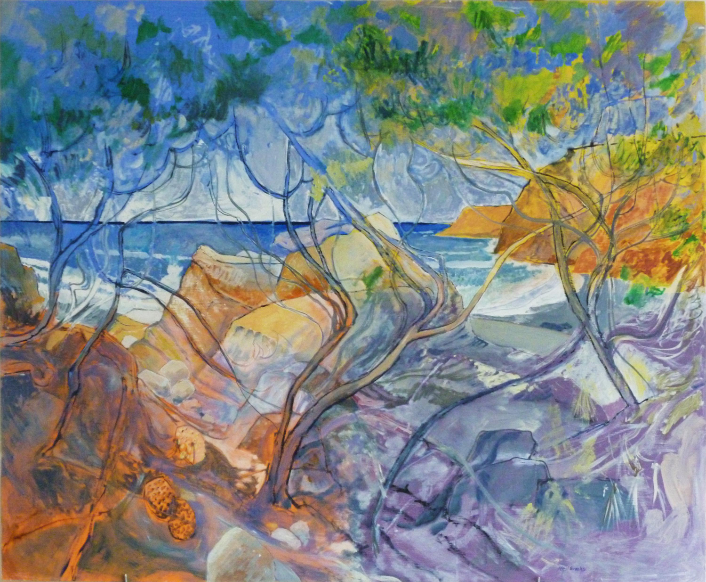 Item 114 - Brooks, By the Rocks Torrey Pines