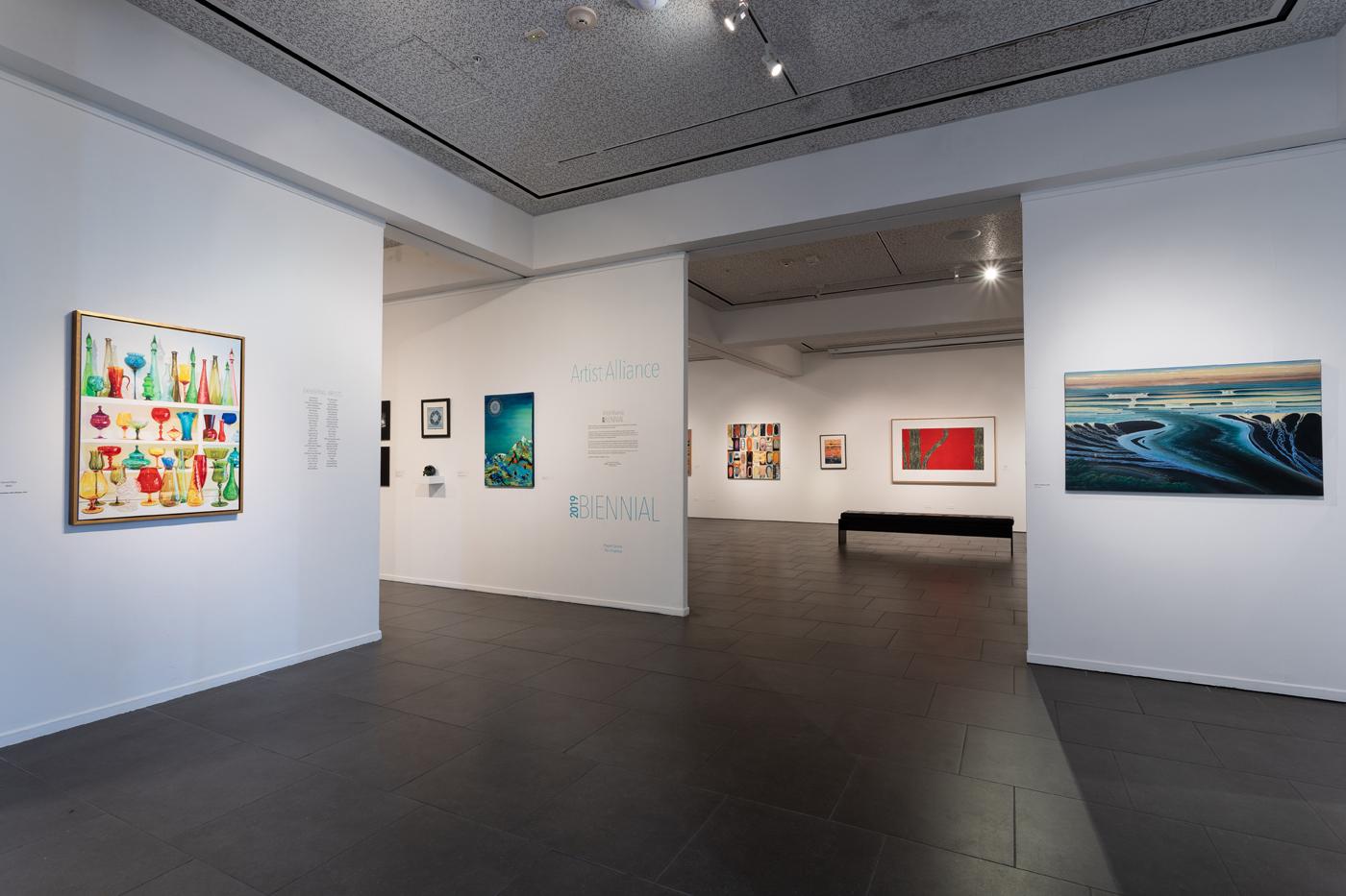 Artist Alliance 2019 Biennial exhibition entrance