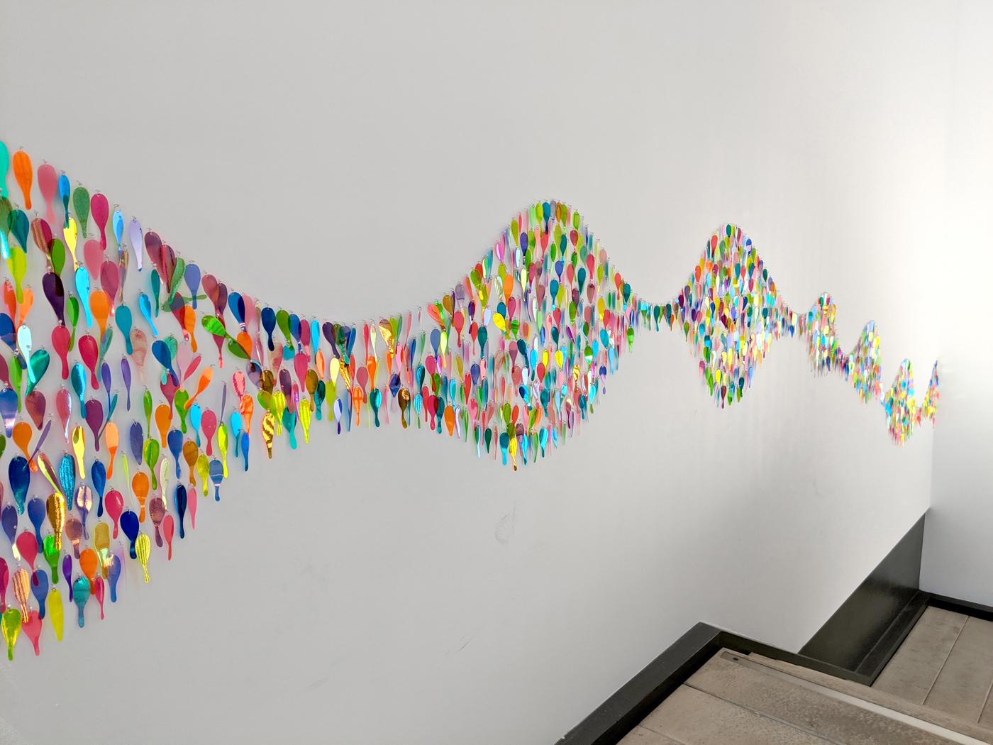 Artist Alliance 2019 Biennial exhibition, Stairwell