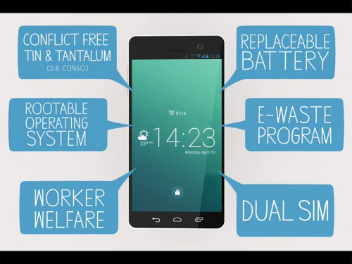 Fairphone, le smartphone réparable