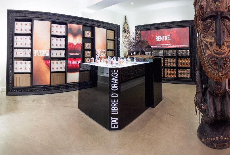 Etat Libre d'Orange, parfum, boutique 69 rue des archives Paris