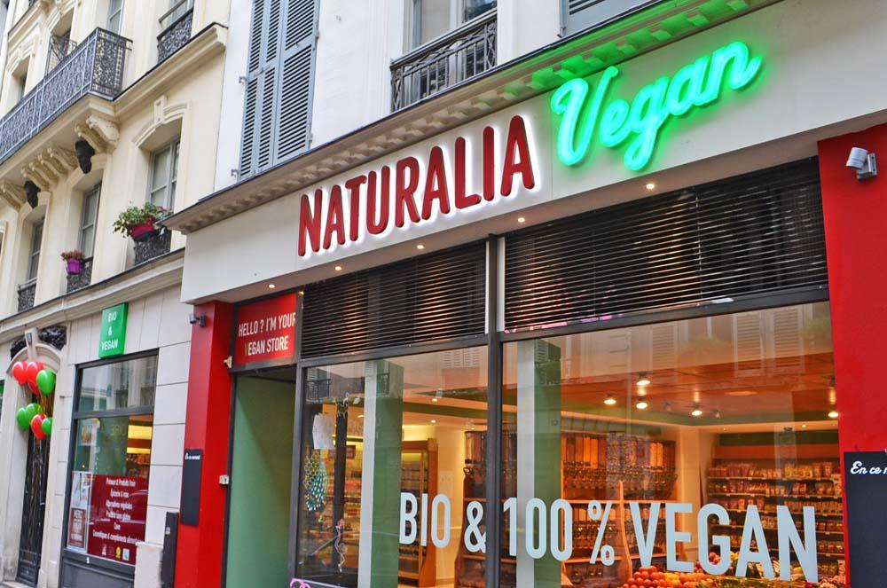 Naturalia ouvre ses magasins 100% vegan