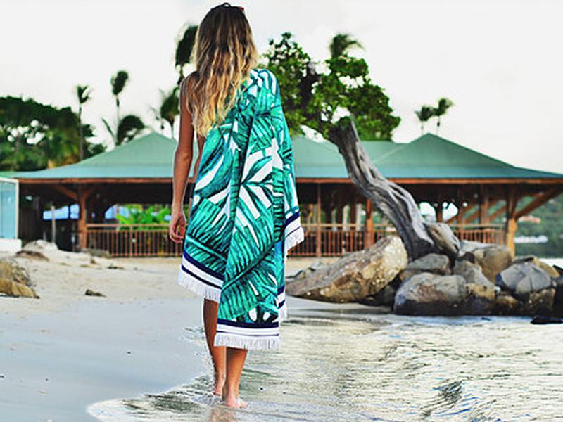 La serviette de plage se réinvente Les antillaises 3 - Ô Magazine