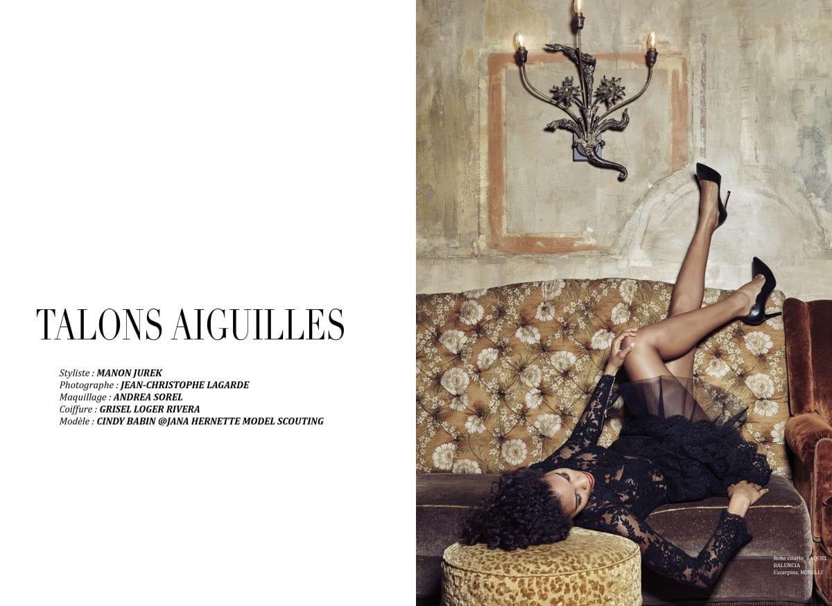 """Éditorial """"Talons aiguilles"""" par Jean-Christophe Lagarde"""