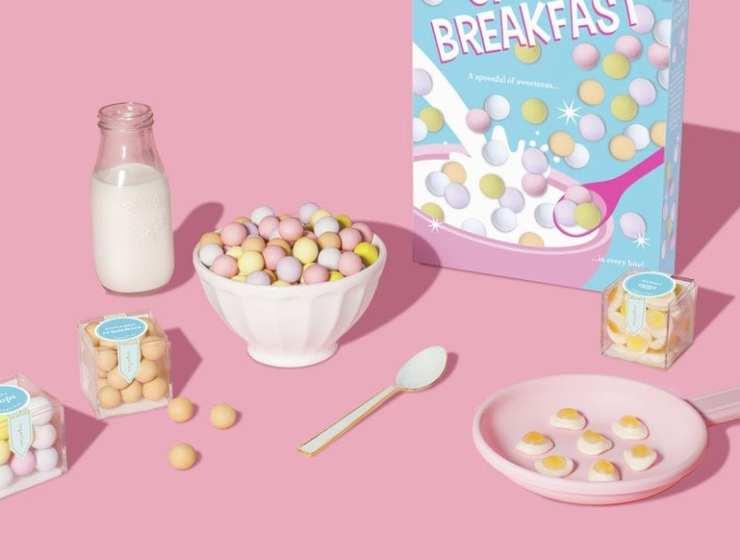 Des bonbons au petit-déjeuner