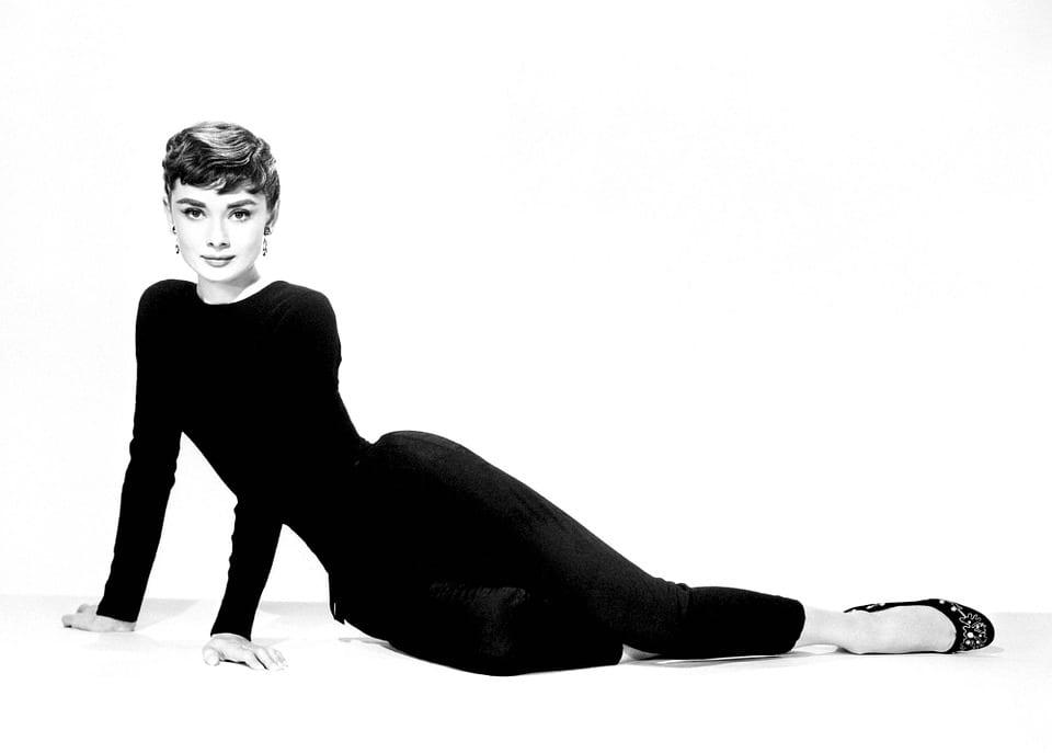 Audrey Hepburn dans Funny Face.