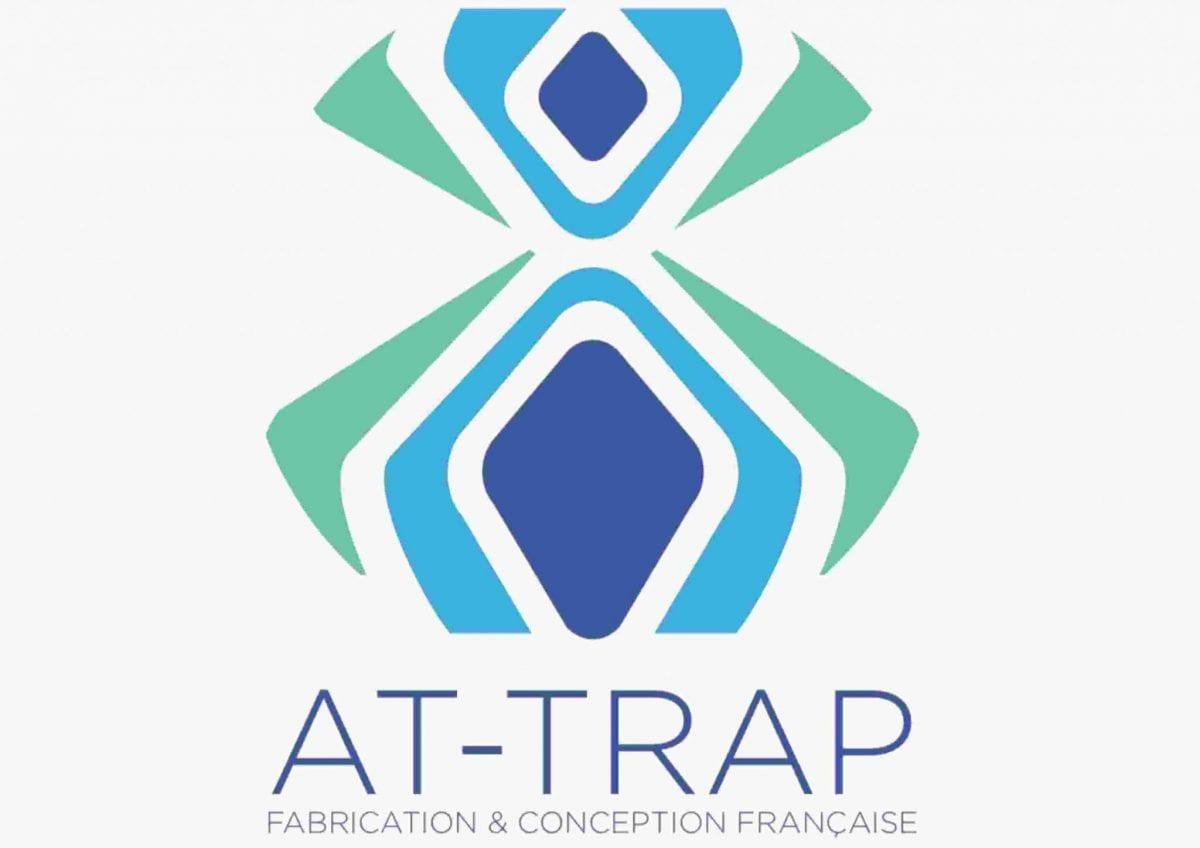 Logo de la marque et invention At-Trap