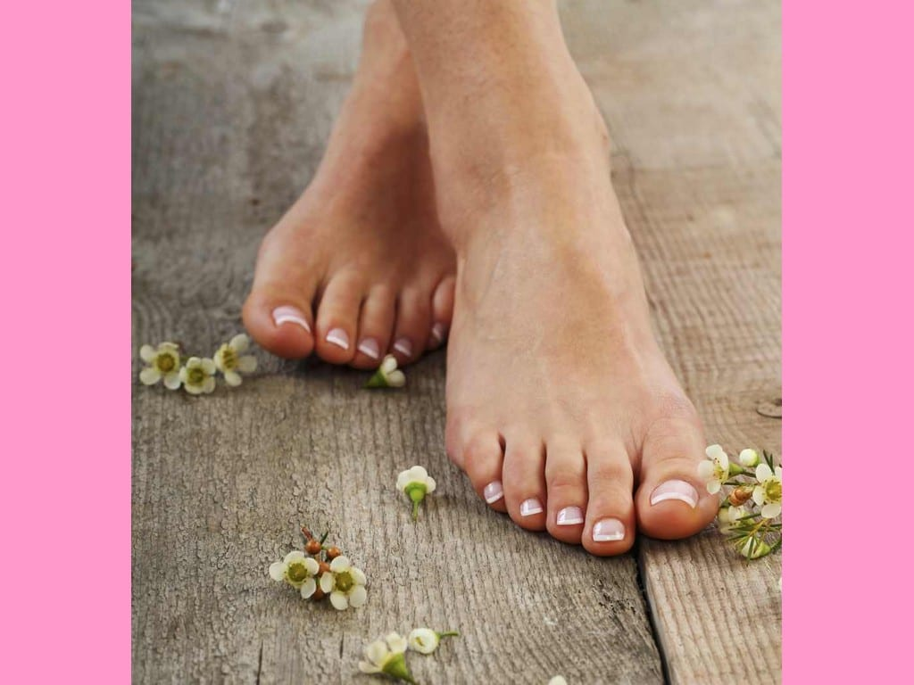 Faire attention à la santé de nos pieds. © X-Default