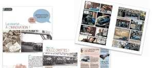 Images de la Docu BD des 24h du Mans