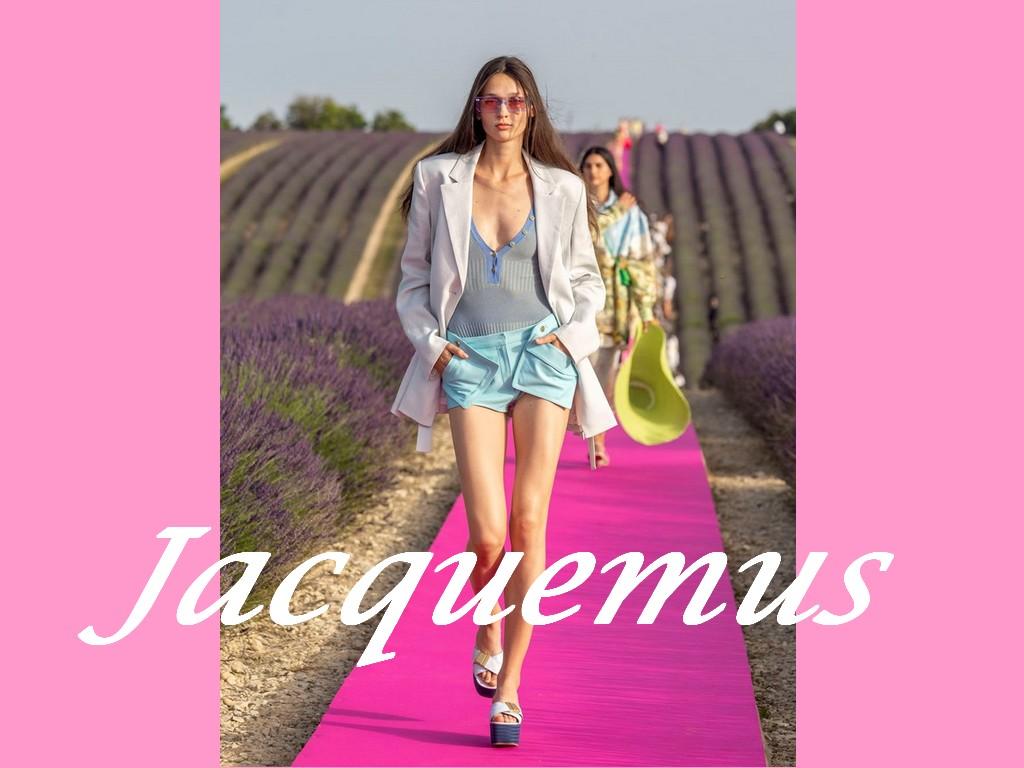 Jacquemus: 10 ans de succès fêtés en Provence