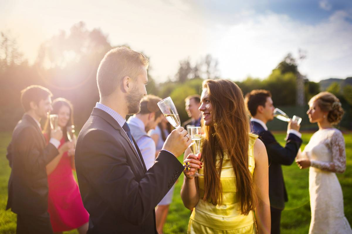 Comment faire la différence à un mariage