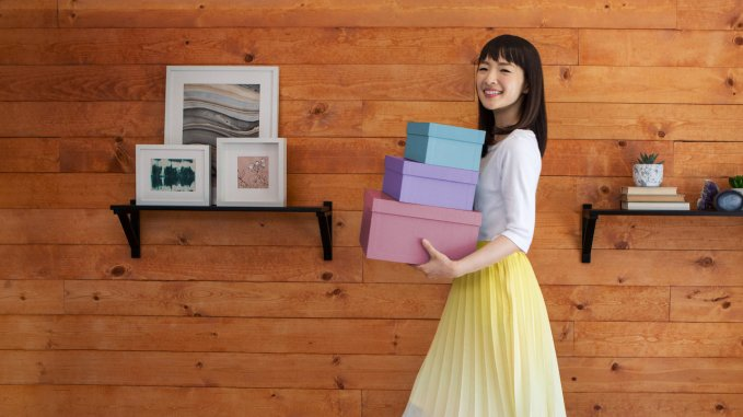 Minimalisme : l'art du rangement avec Marie Kondo.