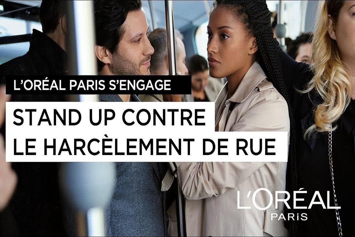 La majestueuse publicité de L'Oréal contre le harcèlement