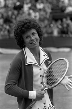 Billie Jean King : figure iconique du tennis féminin.