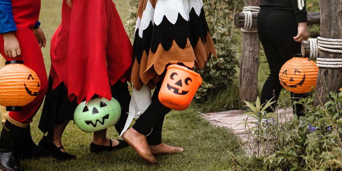 Des bonbons ou un sort ? Une activité traditionnelle d'Halloween.