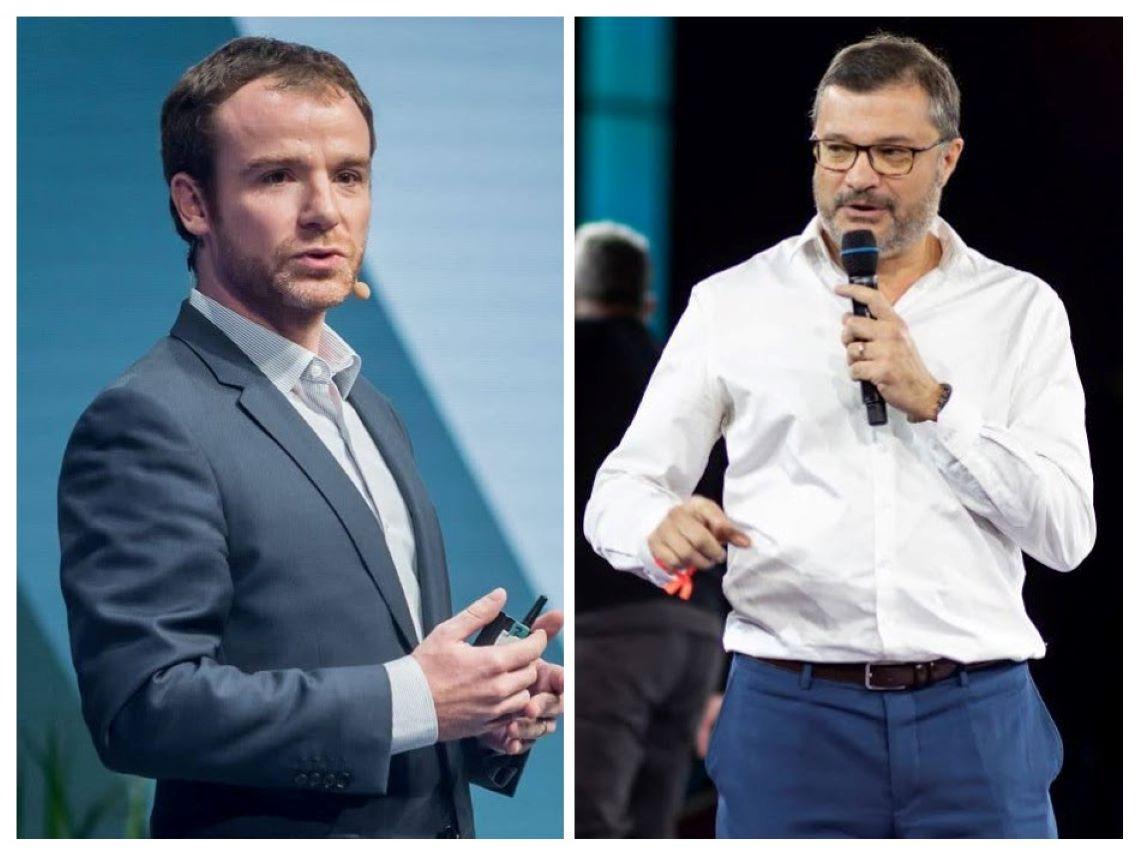 Prenez la parole en public avec Sébastien Bernard et Bruno Clément.