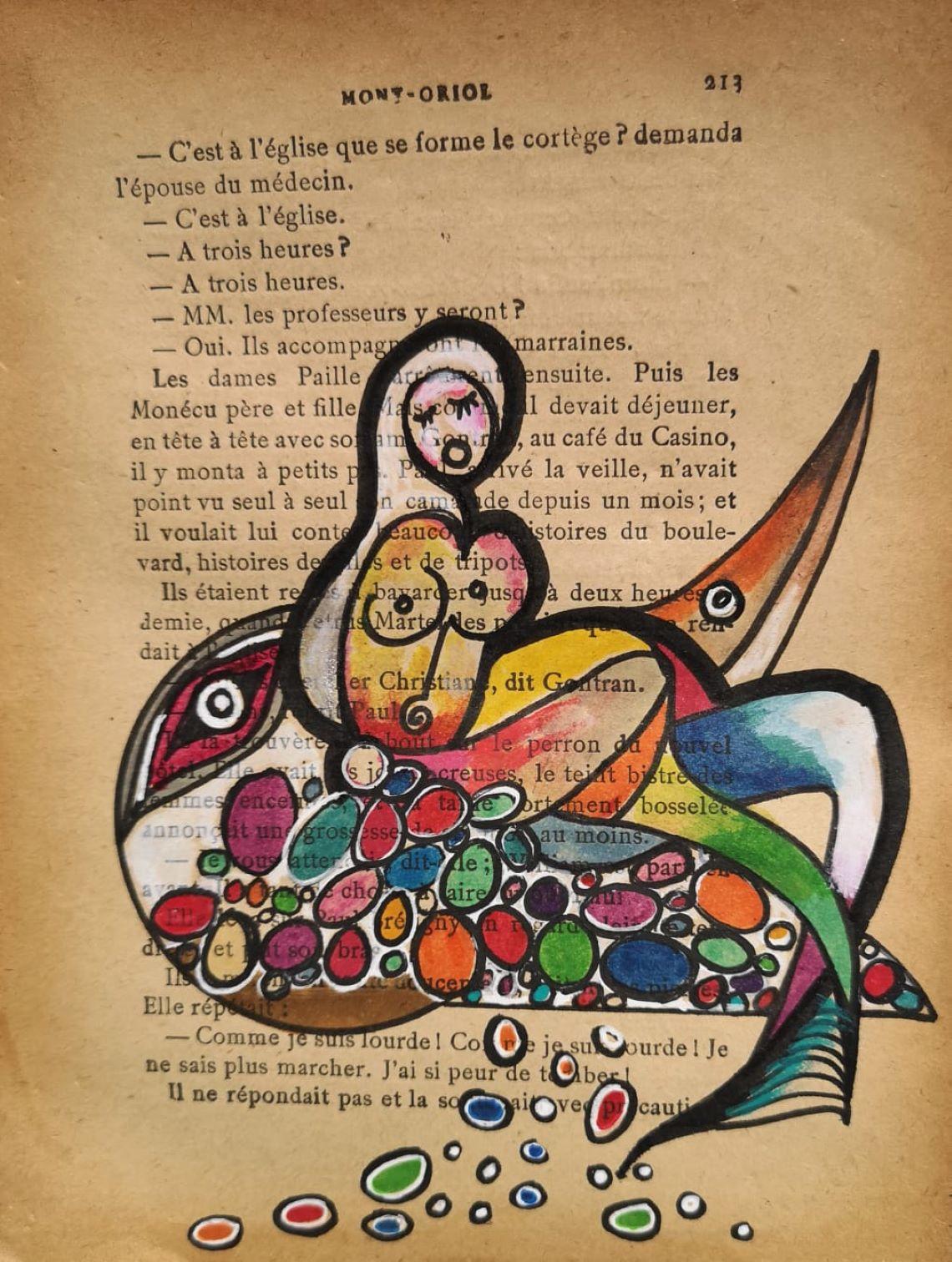 Dessin Ariane Pasco / Nice Art - érotisme