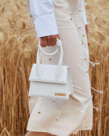 sac à main Chiquito blanc de Jacquemus