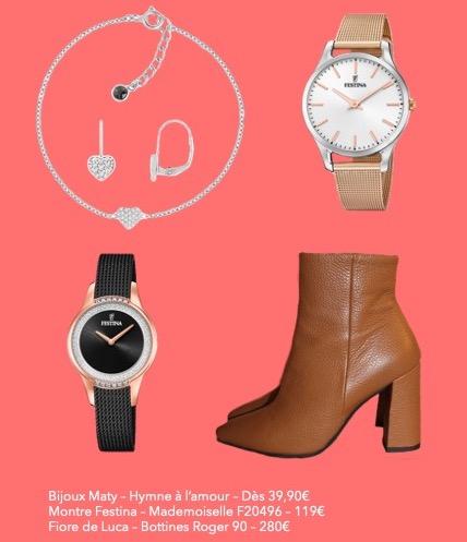 Sélection Mode Les idées cadeaux Saint valentin de dernière minute / Ô Magazine