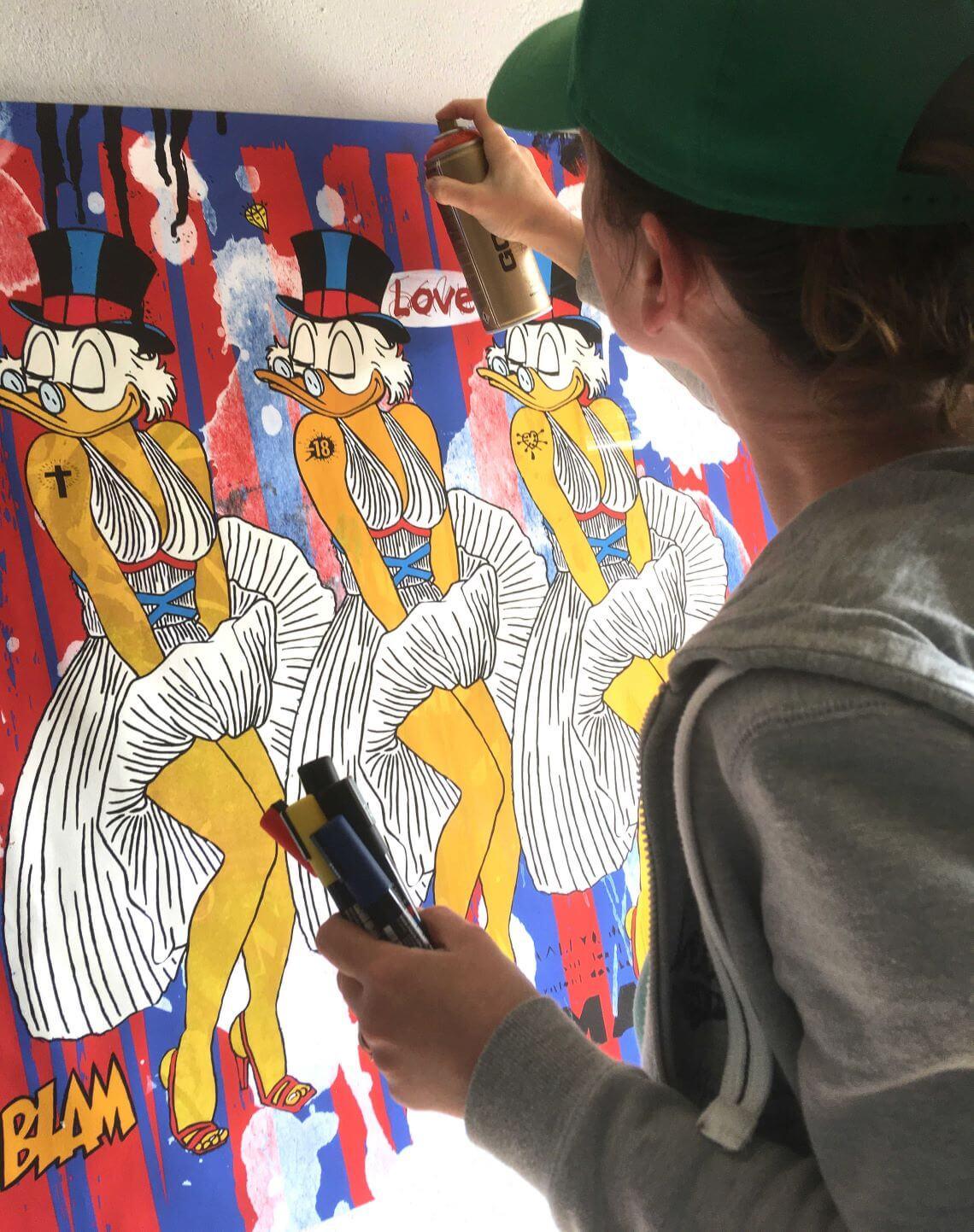 Le street art de Misako au service de la cause des femmes
