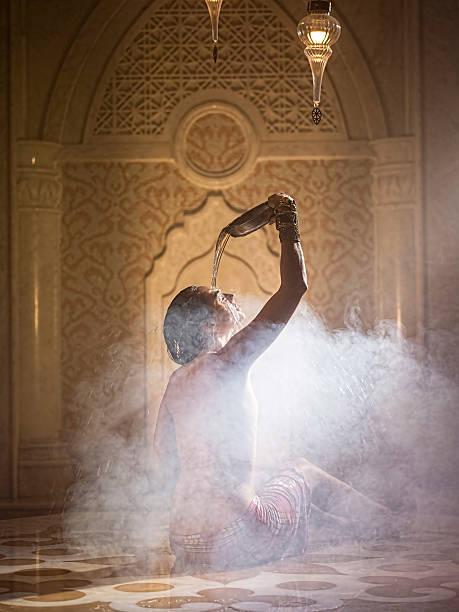 Le hammam incite à la relaxation, à la décontraction musculaire et à la détoxification de l'épiderme. Photo : istock