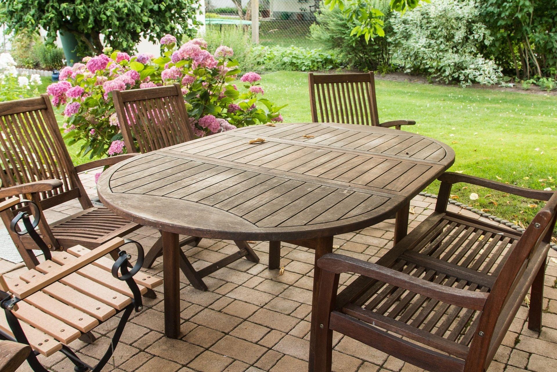 Mobilier de jardin : préparez-vous pour l'été !