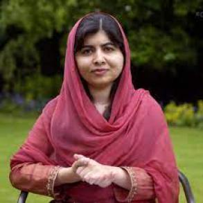 Malala Yousafai.