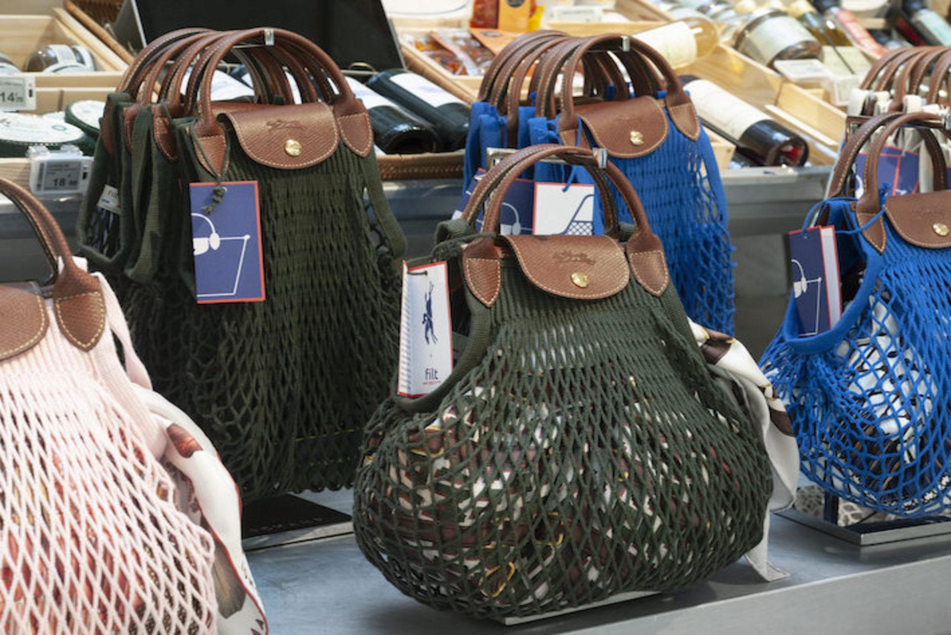 Le sac filet est la tendance de l'été