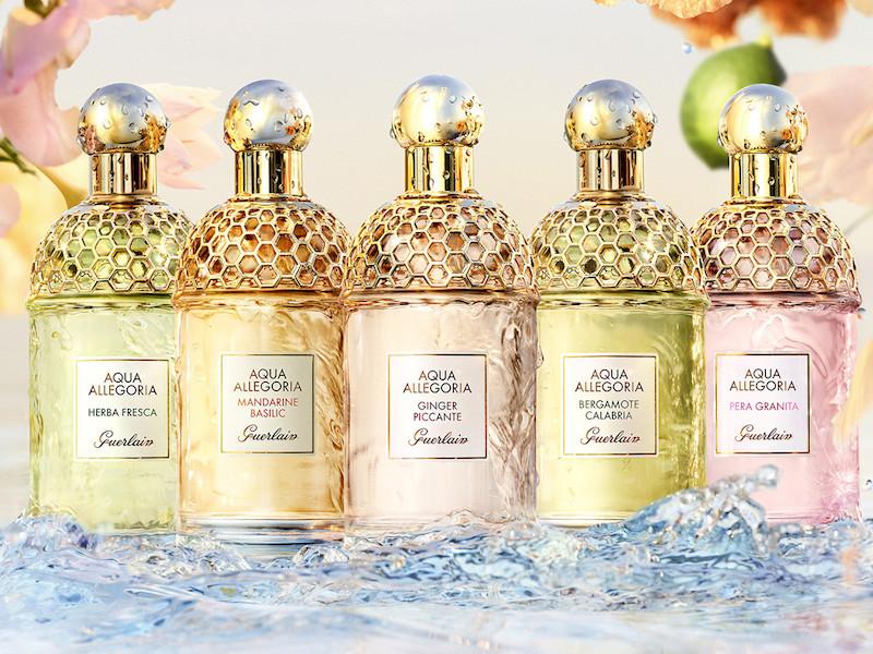 Aqua Allegoria de Guerlain : les parfums qui vous invitent au voyage
