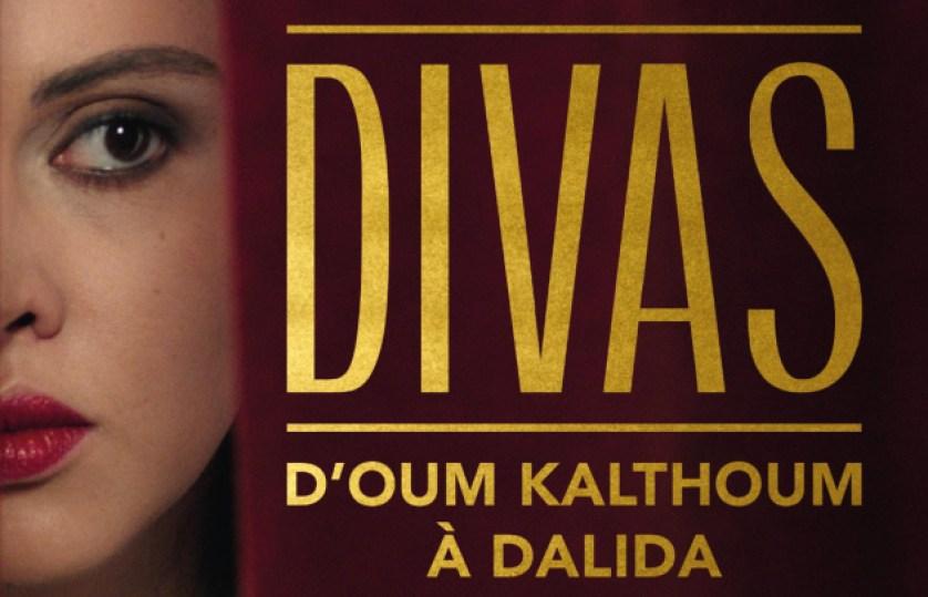 L'affiche de l'exposition Divas à l'Institut du monde arabe