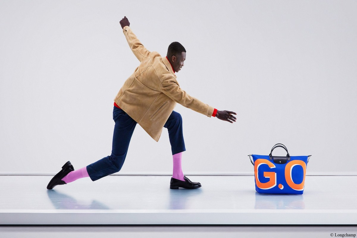 Longchamp lance sa toute première campagne pour Le Pliage