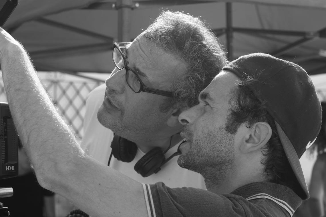 Mehdi Ben Attia (réalisateur) et Antoine Parouty (directeur de la photographie)