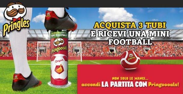 Pringles Mini Football