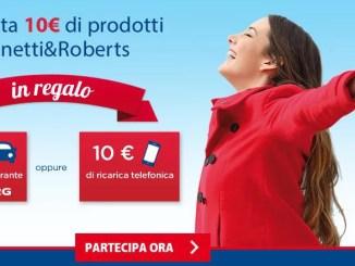 Promozione Manetti Roberts ti ricarica