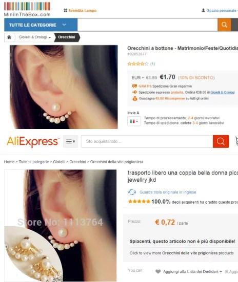 Shoppin Online su Ali Express