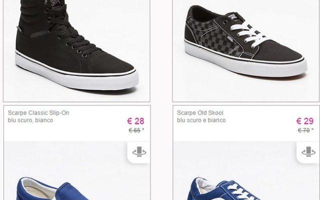 Abbigliamento e scarpe Vans su Vente-Privee: scontatissimi!