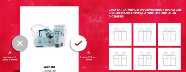 My Beauty Gifts Concorso Sephora