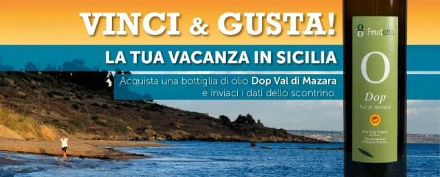 Concorso Gusta & Vinci la tua Vacanza in Sicilia