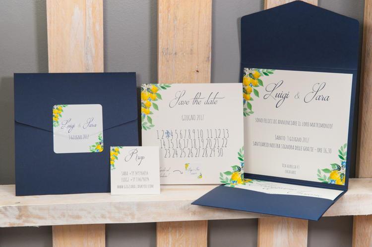 Partecipazioni nozze Marilù Wedding