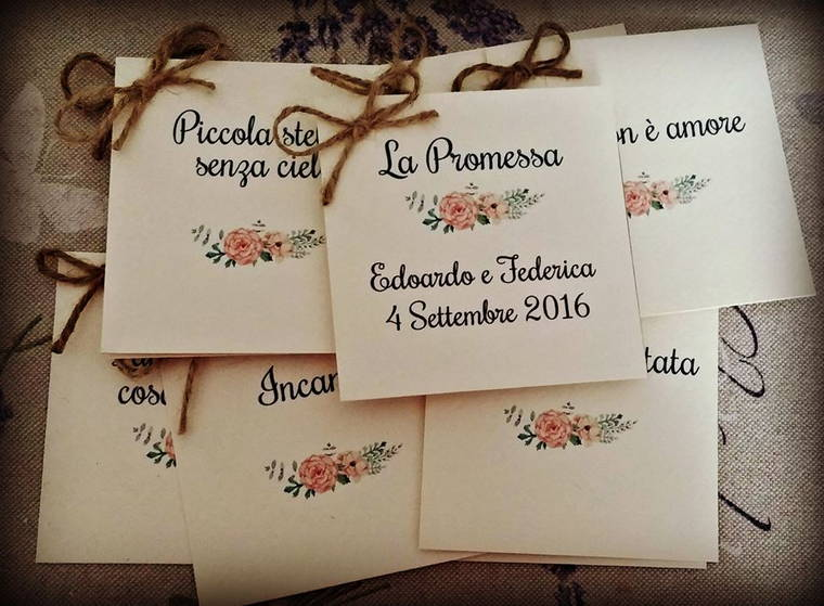 Partecipazioni nozze La Spiga Lilla