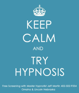 Keep Calm and Try Hypnosis